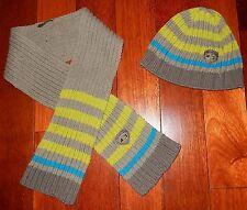 Ensemble écharpe bonnet 51 cm coton MARESE garçon 3 - 4 ans TBE