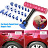 T-Bar with 18 Glue Pads Car Body Dent Repair Removal Tool Kit Puller Lifter NEW