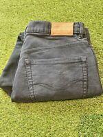 Rodd And Gunn Black Moleskin Jeans 3/4 Fit Mens Size 36