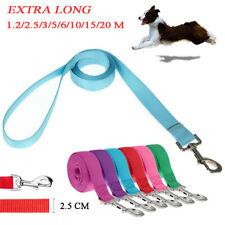 Dog Leads - Extra Long Walking Leash Durable Nylon Outdoor Training Pet Leads