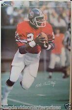 Otis Armstrong 23x35 NFL SI Poster 1977 Denver Broncos