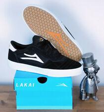 Lakai Footwear Skate Schuhe Shoes Cambridge Black White Suede 9,5/43