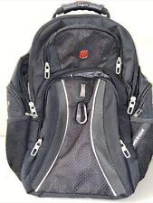 """Swissgear 1270 Scansmart Backpack Black 32.5L 17"""" Laptop Tablet"""