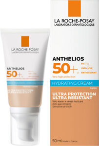 La Roche-Posay Anthelios Hydrating Cream Tinted SPF50 50ml GENUINE NEW