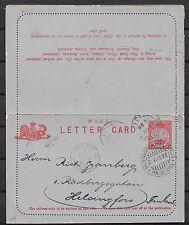 Fiji covers 1909 Letter Card over SUVA to Helsinfors(destination!)