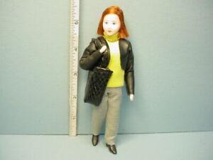 "Miniature Young Woman "" Maren"" #10718  Dollhouse Doll, Handcrafted Erna Meyer"