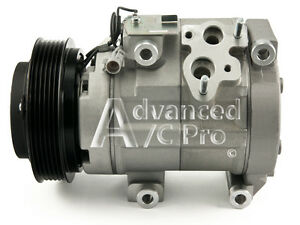 New AC A/C Compressor Fits: 2004 2005 2006  Toyota Sienna V6 3.3L DOHC
