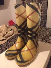 Burberry Wellington Boots UK 4 EU 37