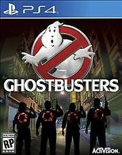 PLAYSTATION 4 GHOSTBUSTERS THE VIDEO GAME BRAND NEW