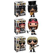 Guns N Roses Music Collection Set of 3 pieces POP! Vinyl Figures