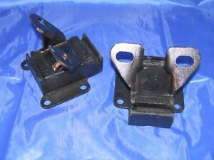 2 Avant Moteur Supports 55 56 Packard V8 Neuf Paire 1955 1956