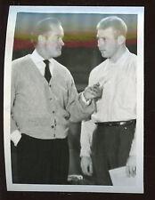 Original December 21 1956 Mickey Mantle & Bob Hope 4 1/8 X 5 1/2 Photo