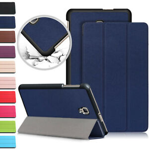"Leather Magnetic Case Cover For Samsung Galaxy Tab A6 10.1"" (2016) T580 T585"