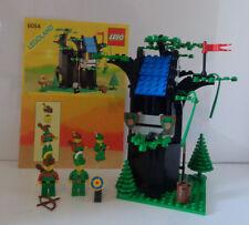 1988 LEGO Castle Set #6054 Forestmen's Hideout -- complete w/ instructions