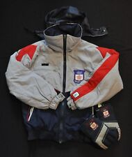 SUN ICE ULTREX SKI JACKET 1988 CALGARY OLYMPICS JACKET+GLOVES BLUE MENS SMALL