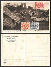1911 Netherlands/Dutch India Postcard - 11-III-11 Postmark, Malang Java, TCV