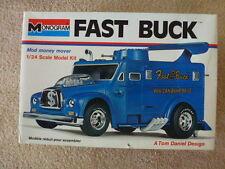 Fast Buck Monogram model kit Tom Daniels Armored Truck wild show rod