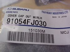 Genuine OEM Subaru Forester LH Mirror Cover 2014-2016 (91054FJ030)