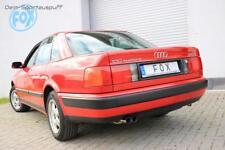 FOX Sportauspuffanlage ab Kat Audi 100, A6 Typ C4 2.6l 2.8l 2x70mm rund scharf
