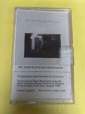 DR JOHN Plays Mac Rebennack CS705 Cassette Tape