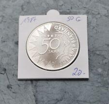 Niederlande  50 Gulden  1987   *** Juliana und Bernhard