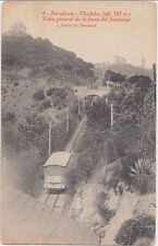 Barcelona,Spain,Tibidabo,Vista General de la Linea del Funicular,Used,1920