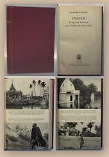 Tichy Indien 1942 Landeskunde Geografie Geschichte Ortskunde Geographie China xy