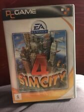 Sim City 4 Classics Electronic Arts Maxis Video Game PC CD-Rom 2002