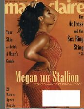 MARIE CLAIRE Magazine May 2020 Issue MEGAN THEE STALLION Cover/Article -- Beauty