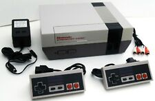 2 Controller Nintendo Entertainment System Nes-001 Video Game Console Bundle Set