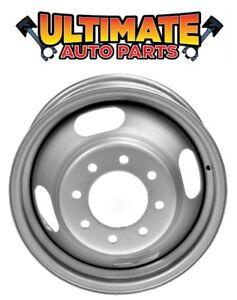 Dually Wheel Rim (16 inch) Steel (Silver) for 01-07 Chevy Silverado 3500