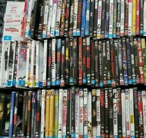 Variety Of DVD's Available Used Movies TV Series Seasons #4 Alphabetical Order