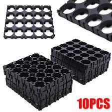 Célula de 10x 4x5 18650 Batería Espaciador radiante Shell Pack Calor titular organizador UK