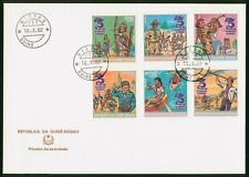 Mayfairstamps Guinea Bissau 1982 Scouts Combo First Day Cover wwo96993
