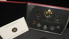 2005 Canada Proof Set 40th Anniversary Canada Flag - Original Box/Paperwork