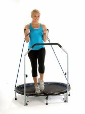 Trampoline Home Fitness Trainer Exercise Rebounder Equipment Workout Cardio DVD