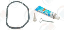 Mercedes Benz 250C 300SD OEM Victor Reinz Oil Pan Gasket w/ Silicone #6170140180