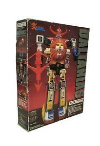 Vintage Godaikon Bandai Daltanias Robot Action Figure Orginal Box Near Complete