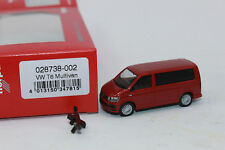 Herpa 028738 VW T6 Multivan negro brillante