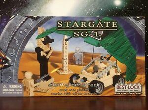Best-Lock  Construction Toys Stargate Sg1 Deathglider Attack ( Brand New)