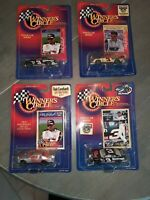 4 1998 Brand New Dale Earnhardt Die Cast Cars With Cards Winners Circle