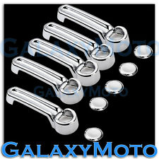 2008-2012 JEEP Liberty Triple Chrome plated ABS 4+1 Door Handle Cover Kit set