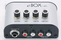 Eleca Audio/USB interface box with USB cable, eBox