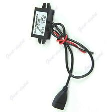 1PC New Output Power Adapter DC DC Converter Module 12V To 5V USB
