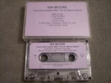 RARE ADV PROMO Ian Moore Band CASSETTE TAPE Live From Austin 1994 blues rock EP
