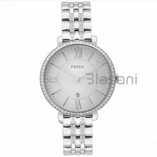 Fossil Original ES3545 Women's Jacqueline Silver Stainless Steel Watch 36mm