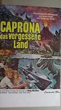 P497 - Kinoplakat - CAPRONA DAS VERGESSENE LAND / The Land that time forgot