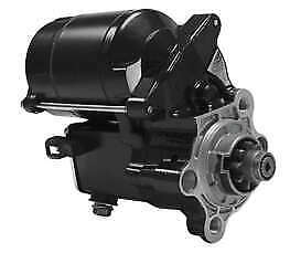 Twin Power Black 1.4kw Electric Starter Motor Harley Sportster 883 1986-2019