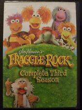 Fraggle Rock - Complete Third Season 3 (5-DVD Set, 2010) Region 1 NEW SEALED OOP