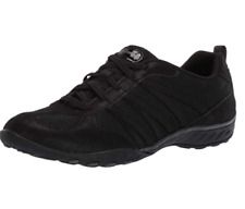 Skechers Breathe Easy Women Bungee Slip On Athletic Shoes Be Relaxed US 9M Black
